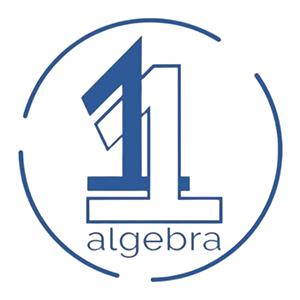 1 On 1 Algebra Logo